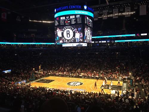 Basketball at Barclays Center