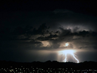 Lightning, forked | by Uncle Jerry in Golden Valley, AZ