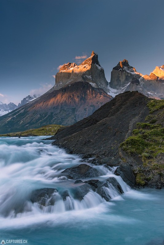 Waterfall - Torres del Paine
