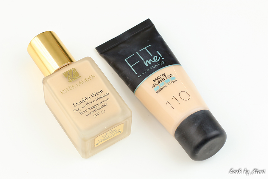 3 estee lauder double wear foundation maybelline matte + poreless foundation 110 review kokemuksia