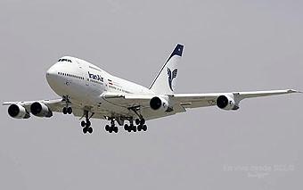 Iran Air B747SP EP-IAC (Sharam Sharifi)