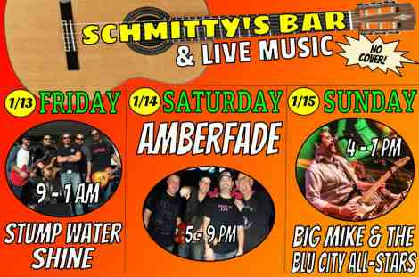 Schmitty's Bar 1-13, 1-14, 1-15-17