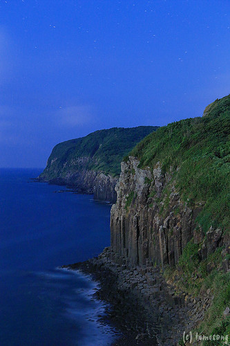 Shiodawara Cliffs in Moonlight