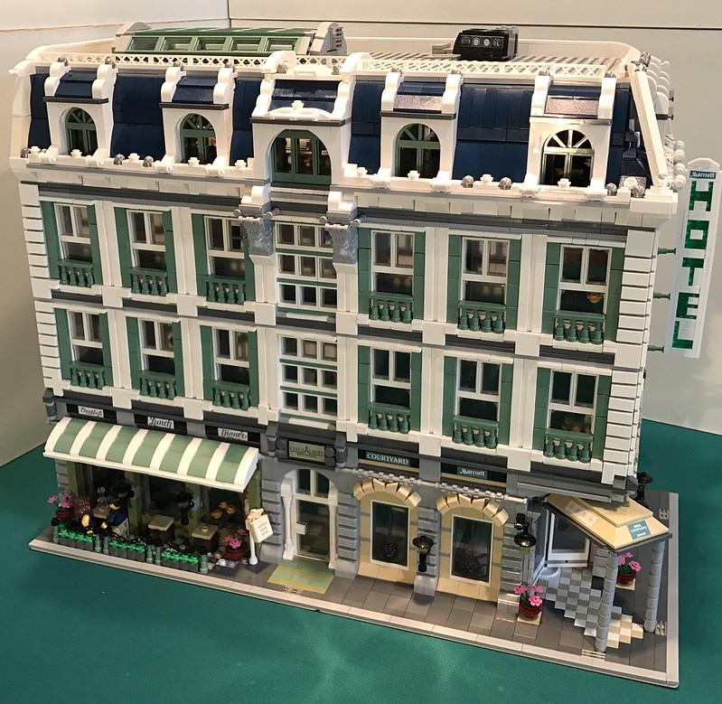 MOC] Hotel retaurant Marriott,11000 parts!!! - LEGO Town ...