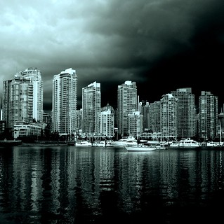 vancouver from false creek | by jawcey
