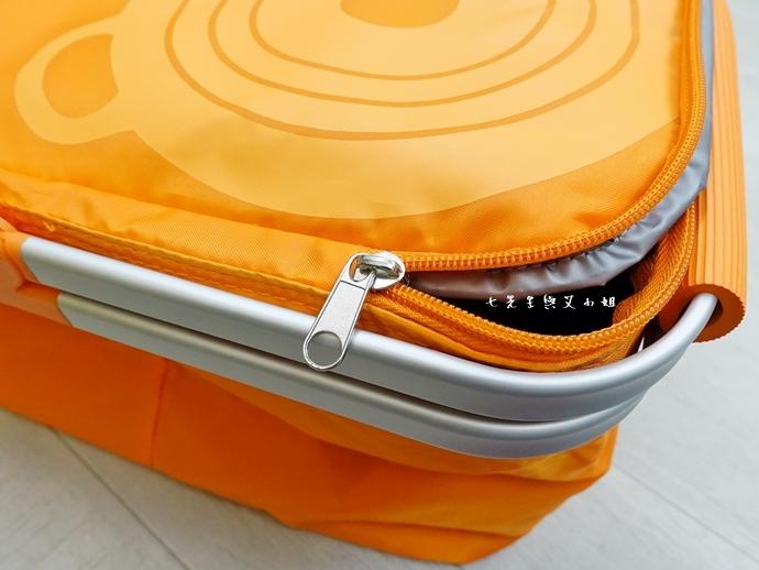 25 7-11 法國 Le Creuset 食尚集點送 食尚餐具組、雙層微波便當盒、食尚兩用餐墊、食尚保冷提籃