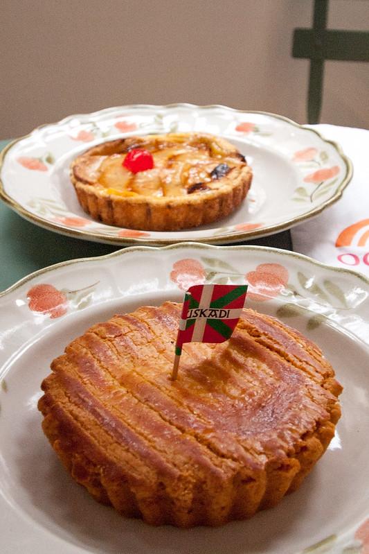Pastel Vasco y Tarta de Manzana