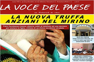 Noicattaro. Prima pagina n. 49-2016 front