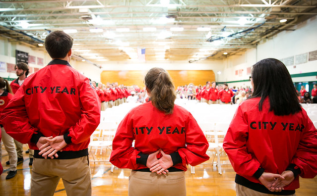 City Year Boston Opening Day 2015