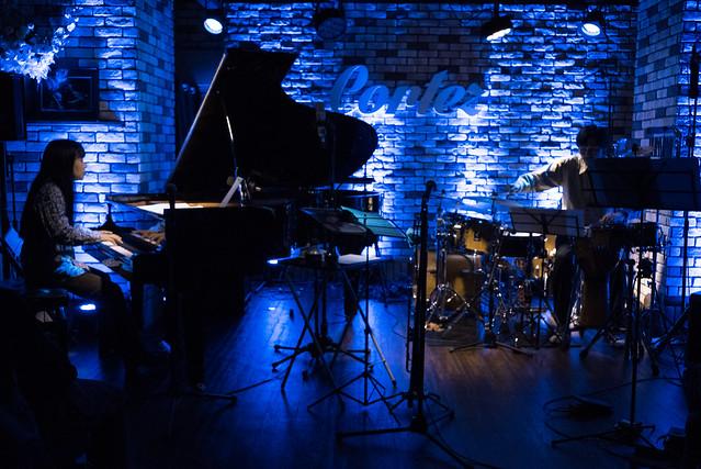 Satoko Fujii Quartet live at Cortez, Mito (Japan), 22 Dec 2016 -00008
