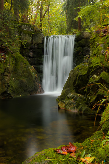 Waterfall at