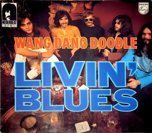 "LIVIN' BLUES WANG DANG DOODLE 12"" vinyl LP"