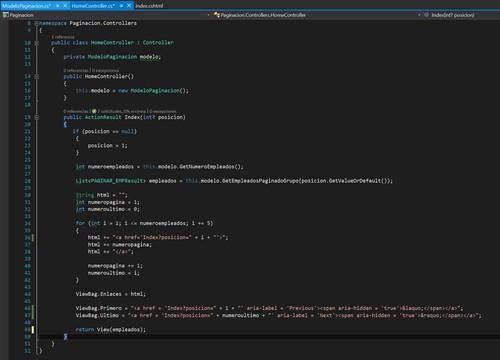 14.Paginación con ASP.NET en Visual Studio controller-paginacion
