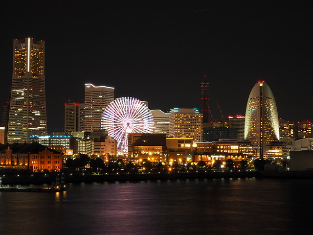 Yokohama City Night at Christmas Eve 2016 (34)