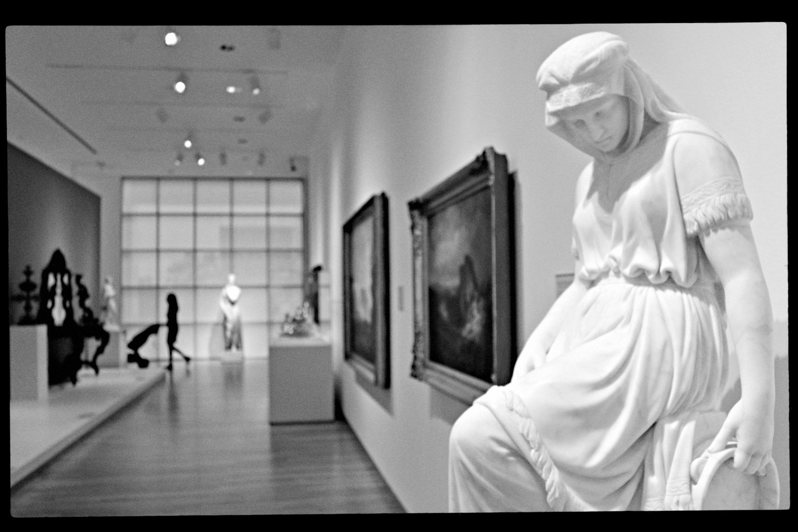 """Chauncey Bradley Ives, """"Jephthah's Daughter"""", High Museum of Art, 2015."""