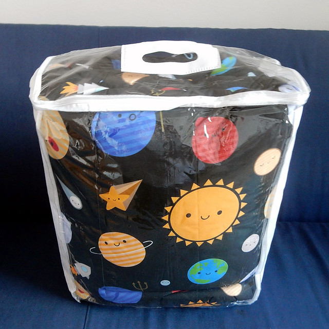 Solar System comforter from Society6