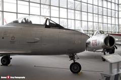 23363 363RCAF - 1153 - Royal Canadian Air Force - Canadair CL-13A Sabre 5 - The Museum Of Flight - Seattle, Washington - 131021 - Steven Gray - IMG_3473