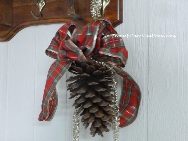 Pine Cone Hanger at From My Carolina Home