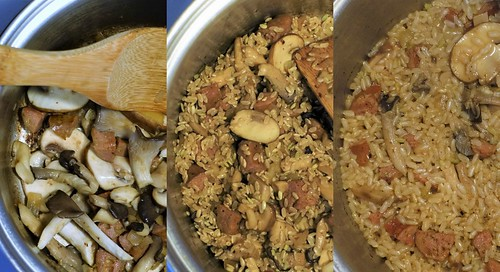 Brown Rice Mushroom Pilaf - USA Rice