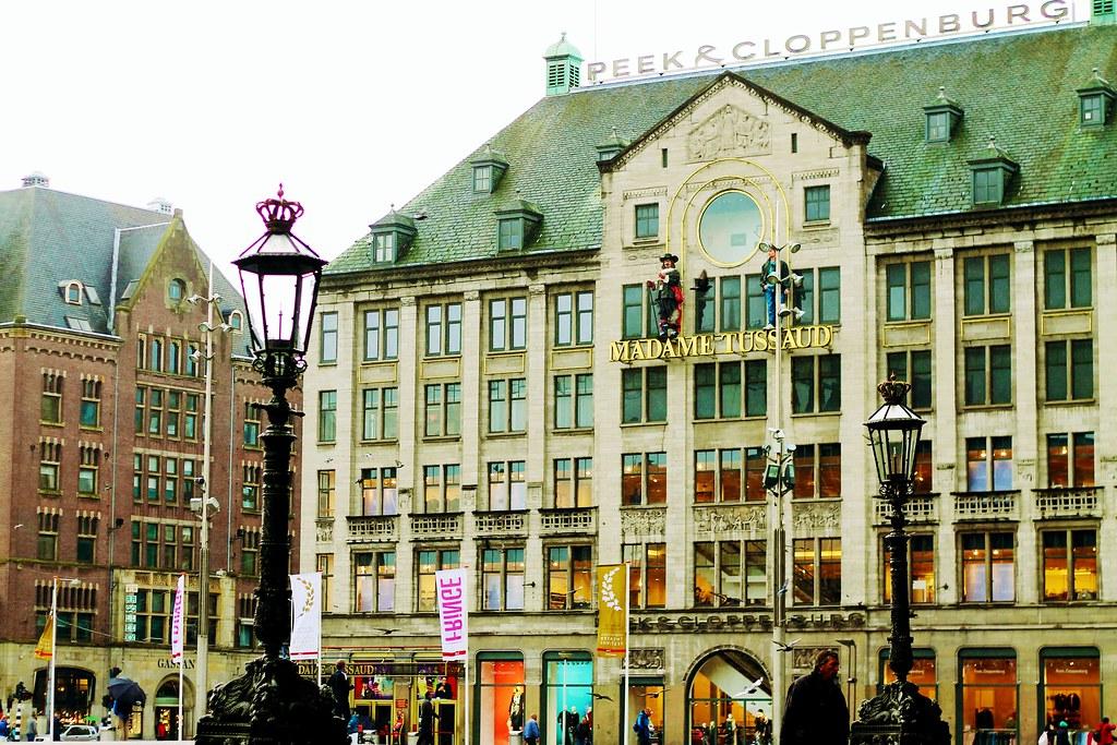 Drawing Dreaming - dois dias em Amsterdão - Dam Square, Madame Tussauds