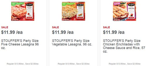 photo regarding Stouffers Coupons Printable called 4 fresh Stouffers discount coupons: Hefty 96 oz Entrees $8.99 at