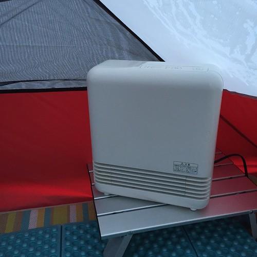 テント用セラミックファンヒーター