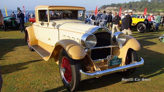1928 Packard 443 Eight Dietrich Coupe