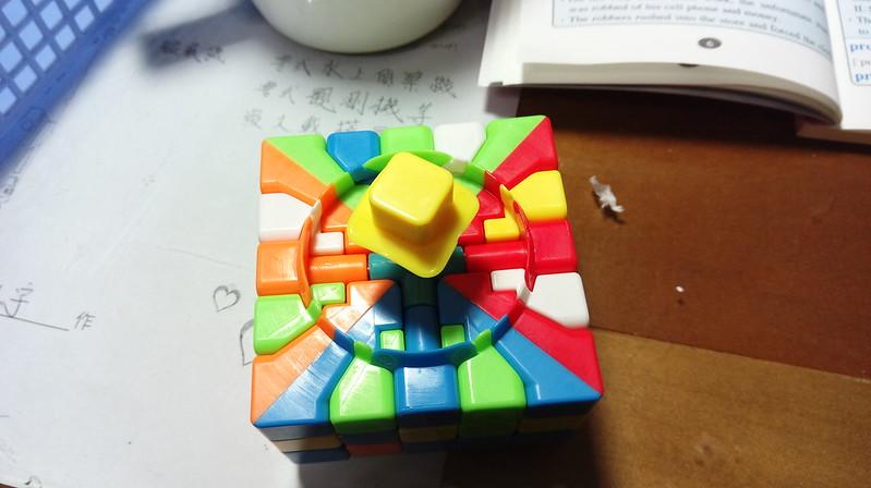 五階魔方組裝教學9