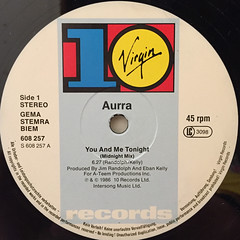 AURRA:YOU AND ME TONIGHT(LABEL SIDE-A)