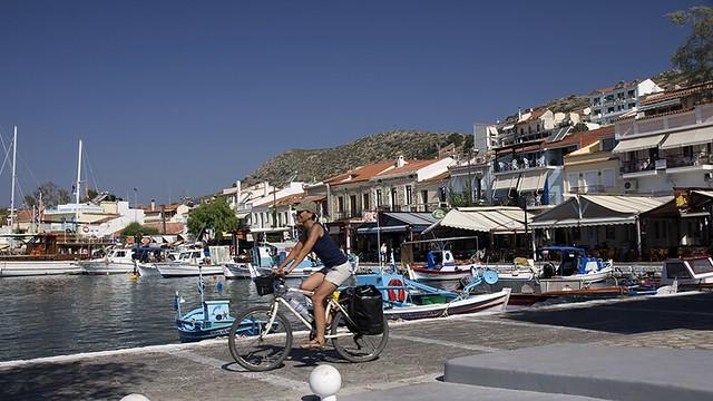 Pythagorion port samos