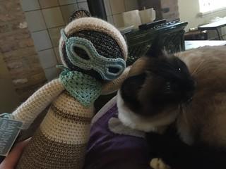 Lalylala roco birman cat crochet gehaakt raskat