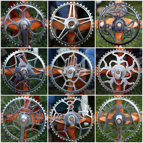 Bicycle Chainwheels | by Leo Reynolds