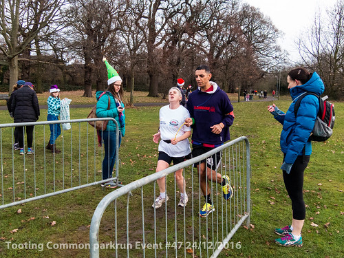 Tooting Common parkrun event #47 24/12/2016