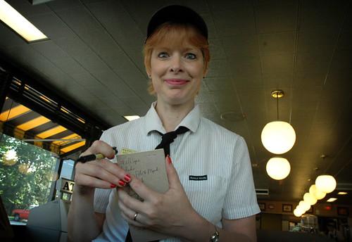 Waffle House Waitress In Ohio Lisa Whiteman Flickr