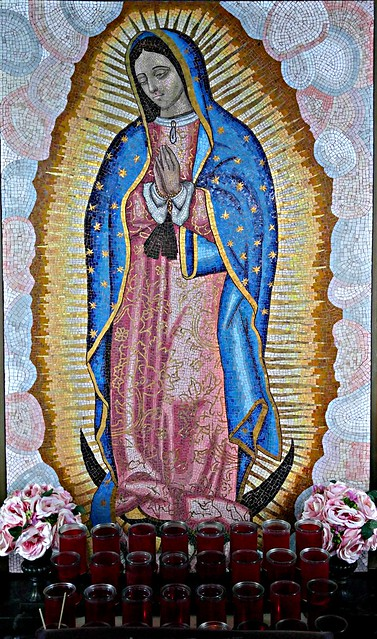 our lady of guadalupe from Holy REdeemer church