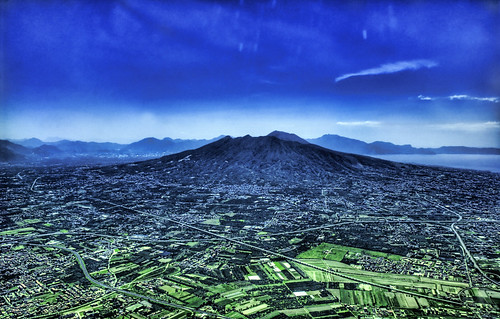 Mount Vesuvius from the Sky | by Stuck in Customs