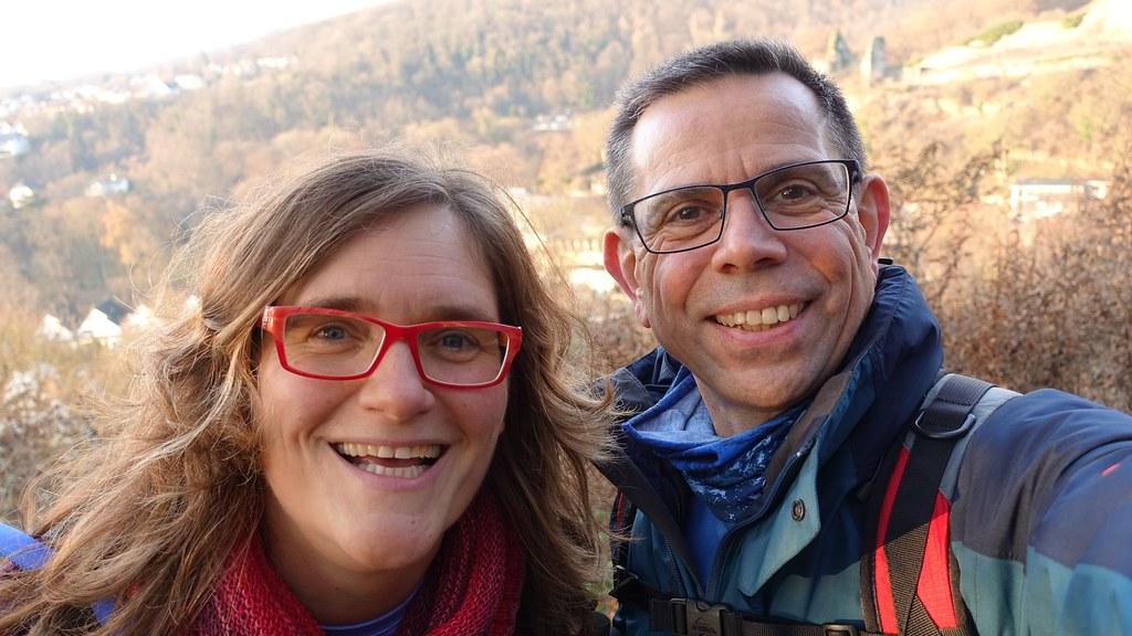 Jutta (@ichunterwegs) und Frank (@derentspannende)