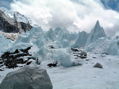 Ice sculptures near Everest Base Camp | by Mahatma4711