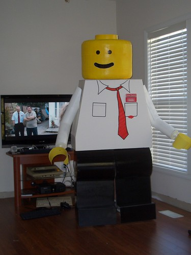 Shaun of The Dead Lego MiniFig Costume | by kevinferno