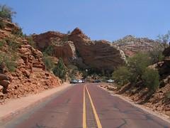 Zion-Mount Carmel Highway, Zion National Park, Utah