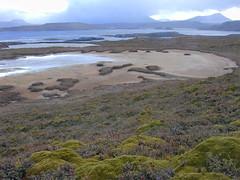 lac temporaire - Iles kerguelen