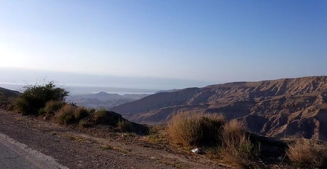 Mountainous Terrain near the Dead Sea