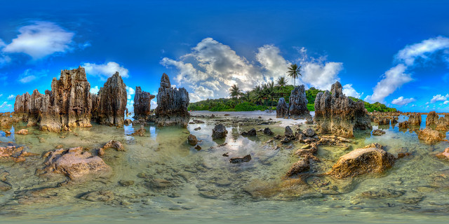 Nauru Rock Pinnacles - High resolution version in description