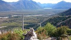 Desde la cima del Volcán Chaitén