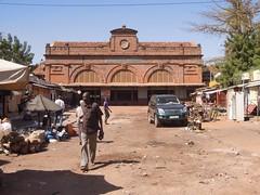 Bahnhof der Dakar-Niger-Bahn
