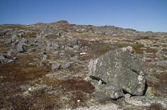 Paysage roches érratiques