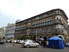 Elphinstone Building in South Bombay