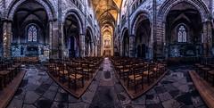 Tréguier cathedral panorama