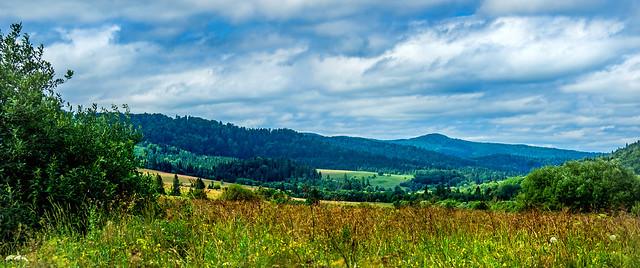 San river valley - Bieszczady NP, Poland