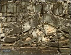 Angkor Thom, Bayon River Stone 20180202_091035 DSCN2464